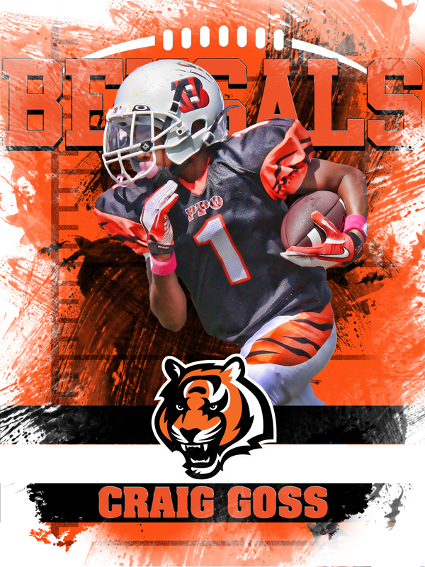 Bengals Personal Poster Template