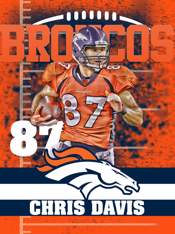 Broncos Personal Poster Template