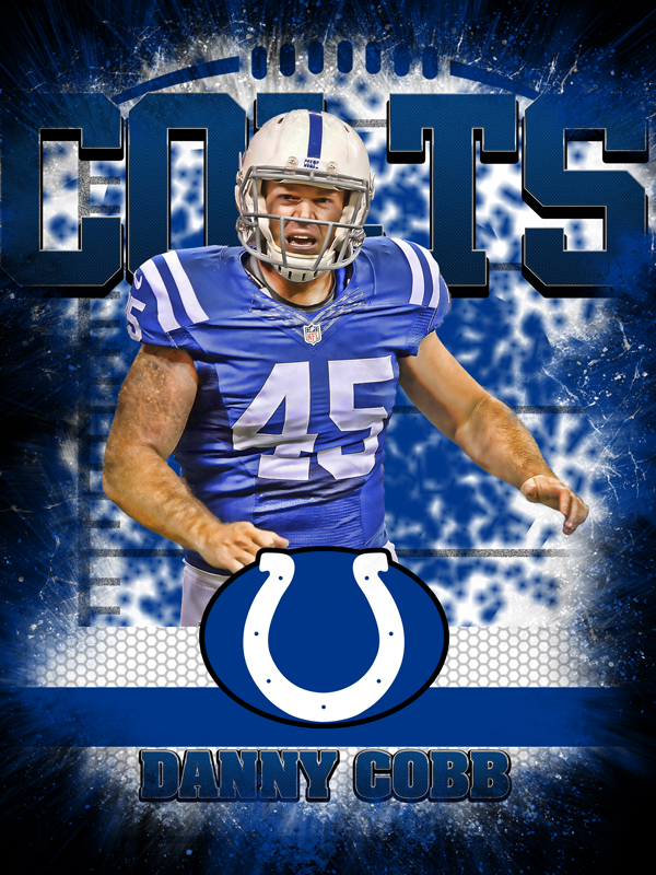 Colts Personal Poster Template