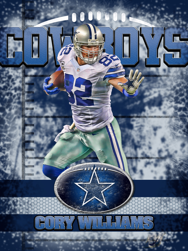 Cowboys Personal Poster Template