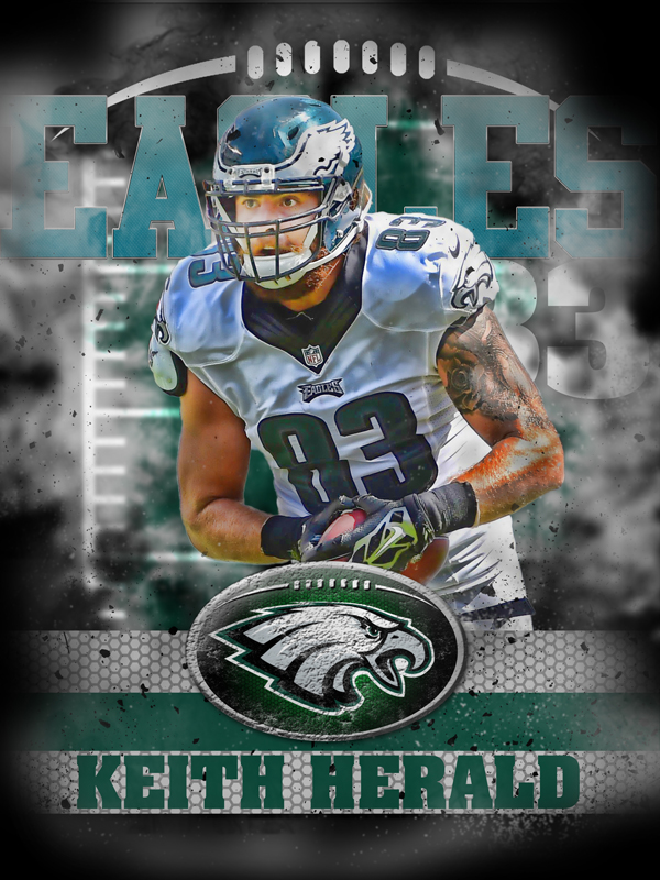 Eagles Personal Poster Template