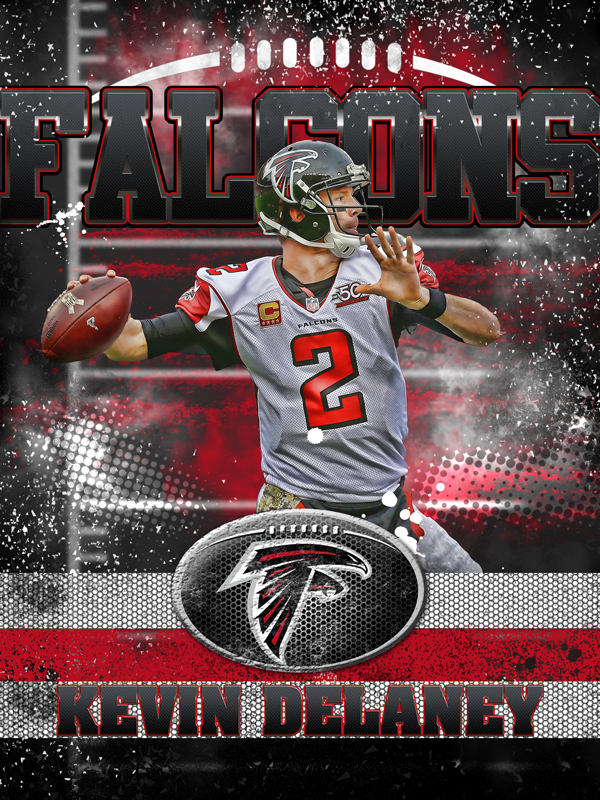 Falcons Personal Poster Template