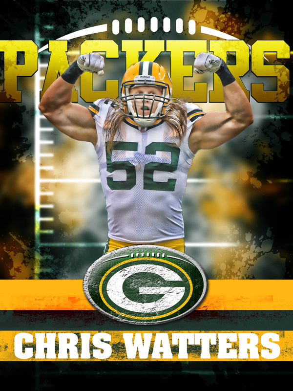 Packers Personal Poster Template