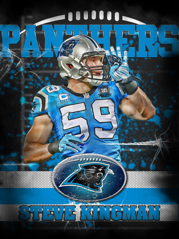 Panthers Personal Poster Template