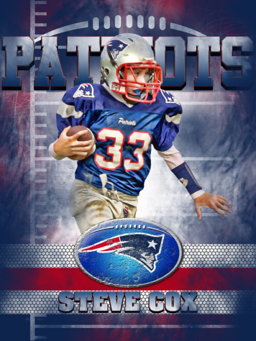 Patriots Personal Poster Template