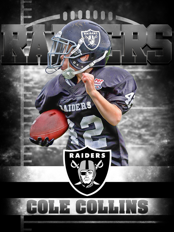 Image of Raiders Personal Poster