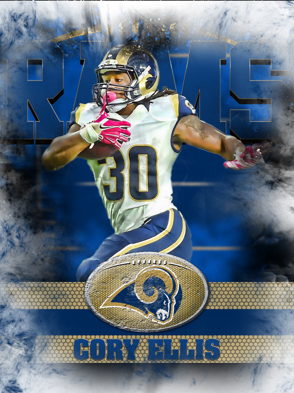 Rams Personal Poster Template